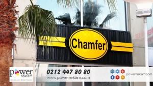 Chamfer-Cafe Tabelası