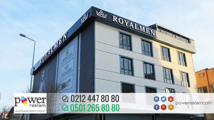 Royalmen-Çatı Tabelası