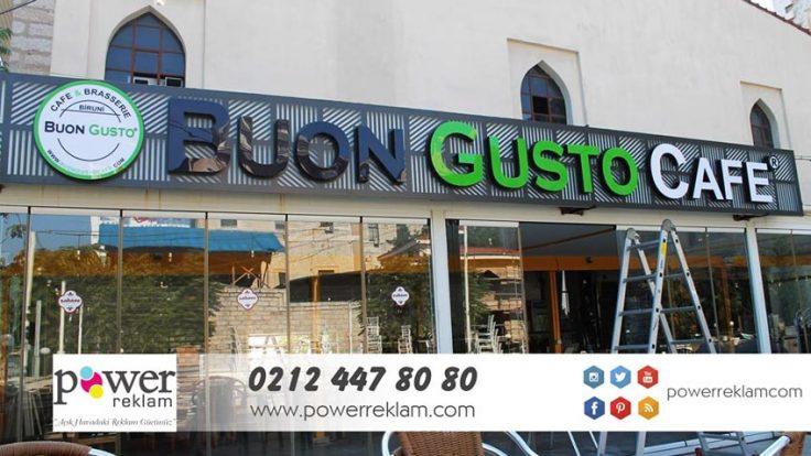 Buon Gusto Cafe Tabelası